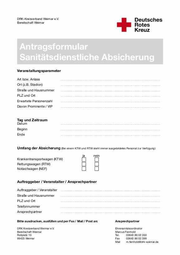 Ihre Veranstaltung Absichern Angebot Deutsches Rotes Kreuz In
